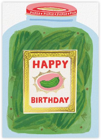 Pickle Jar (Danielle Kroll) - Red Cap Cards -