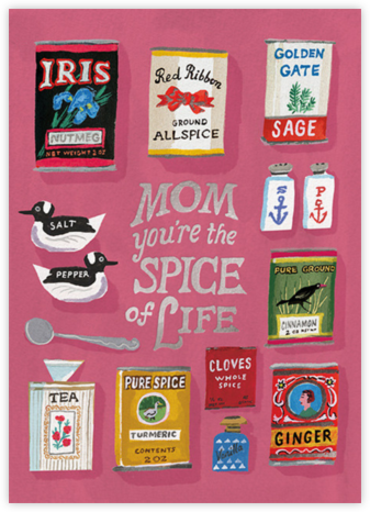 Spice of Life (Danielle Kroll) - Red Cap Cards - Holiday cards
