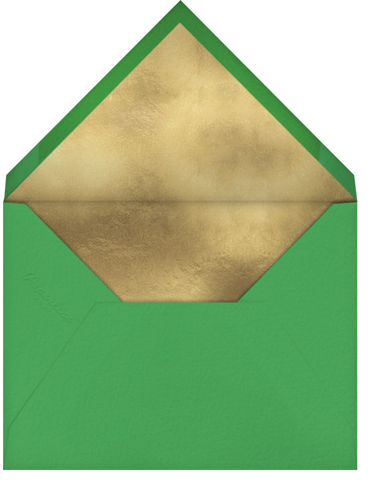 Putting Green (Danielle Kroll) - Red Cap Cards - Father's Day - envelope back