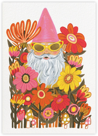 Gnome Worries (Krista Perry) - Red Cap Cards - Red Cap Cards