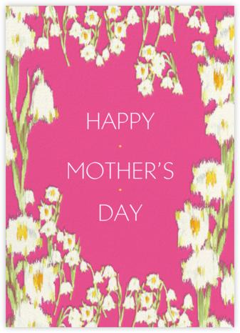 Garden Lilies (Greeting) - Pink - Carolina Herrera -