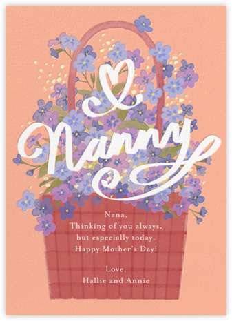 Flowers for Grandma - Paperless Post - Mother's Day Cards