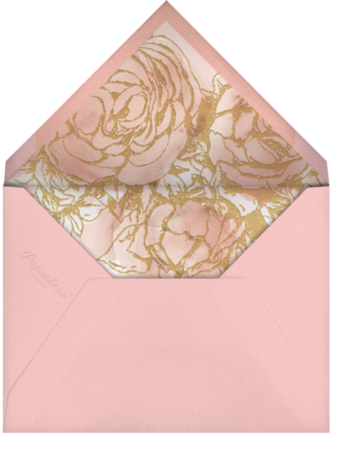Blooming Frame - Paperless Post - Valentine's Day - envelope back