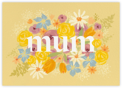 Mum in Bloom - Paperless Post - Mother's Day Cards