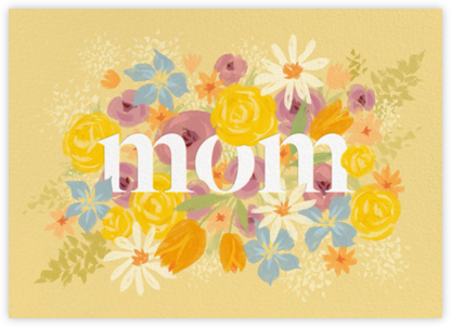 Mom in Bloom - Paperless Post - Holiday cards