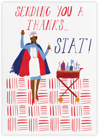 Thank You Stat - Deep - Mr. Boddington's Studio - Online Thank You Cards
