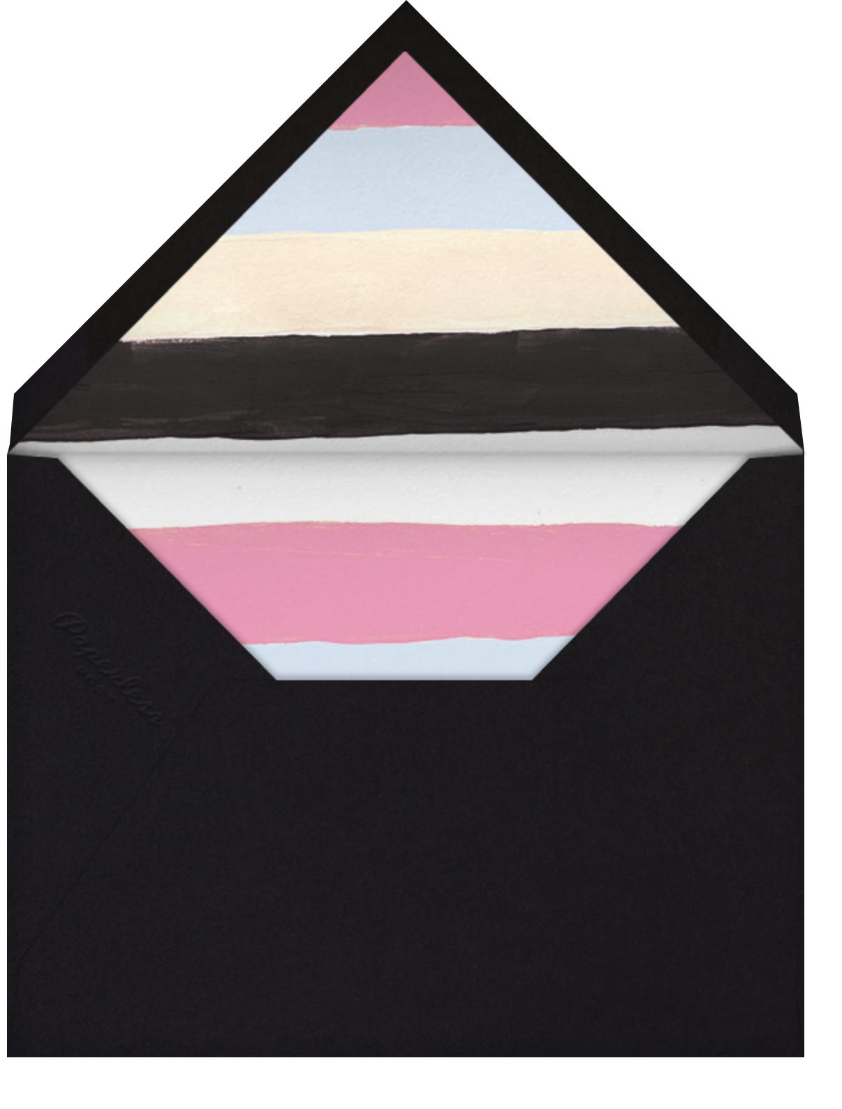 Hodgepodge Hearts - Pink - Ashley G - Quinceañera - envelope back