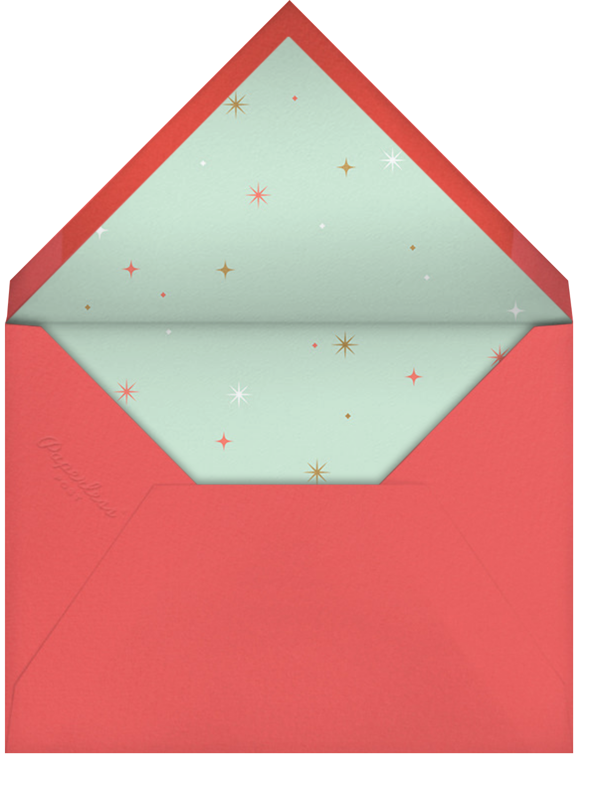 Essential Gratitude - Paperless Post - Thank you - envelope back