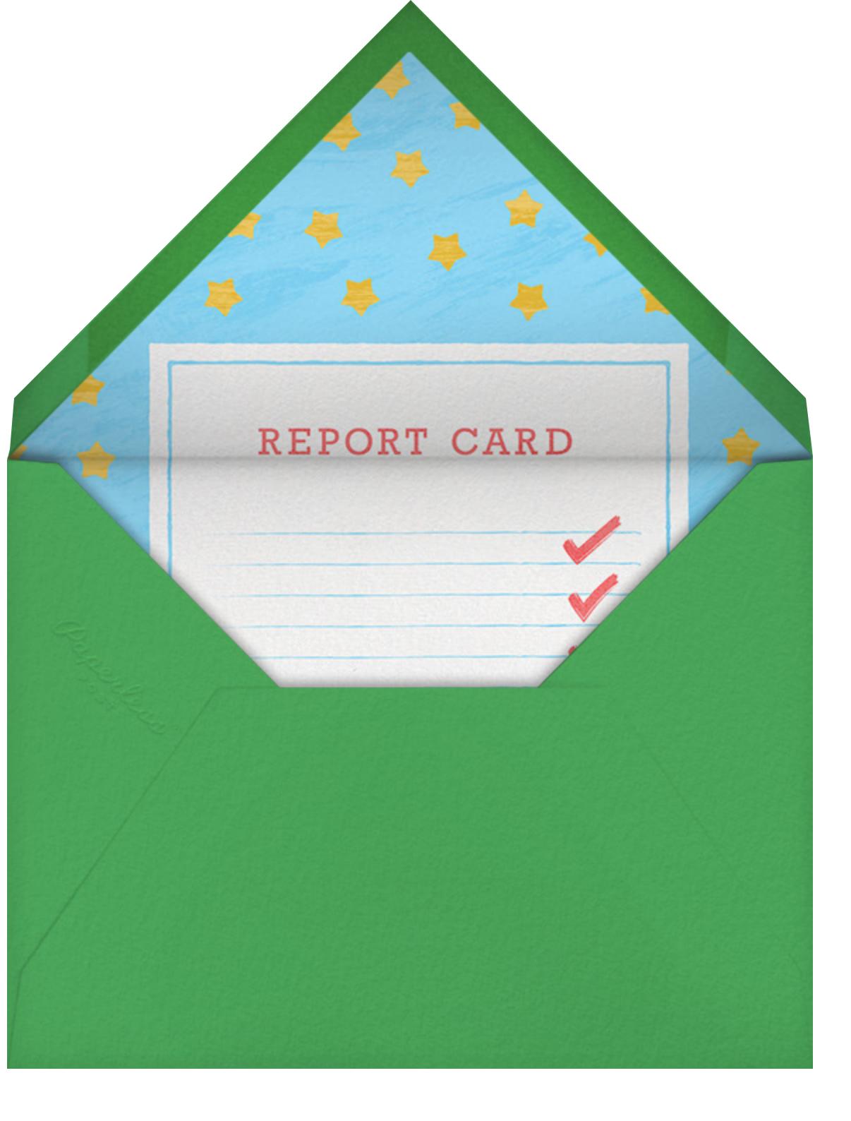 A+ Teacher - Paperless Post - Thank you - envelope back