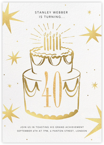 Big Year - Paperless Post - Milestone Birthday Invitations