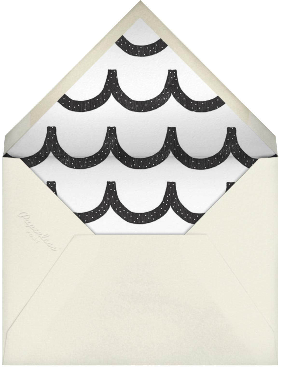 Falling Stars - Cream - Ashley G - Graduation party - envelope back