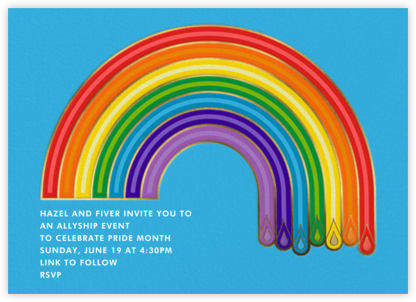 ROYGBIV - Jonathan Adler - Pride Party Invitations