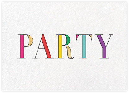 Rainbow Party - kate spade new york - Pride Party Invitations