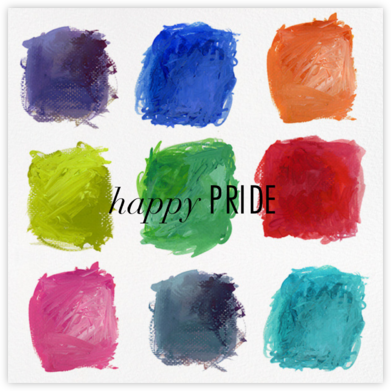 True Colors - Kelly Wearstler - Pride Greeting Cards