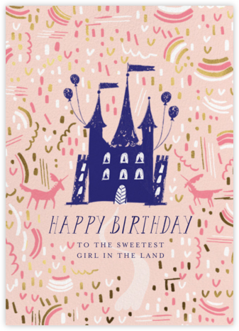 Castle Confetti - Mr. Boddington's Studio - Online Greeting Cards
