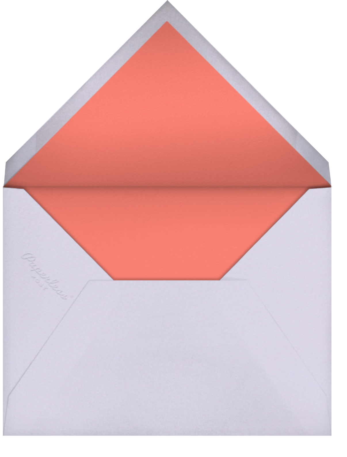 Cocktail Confetti - Paperless Post - Adult birthday - envelope back