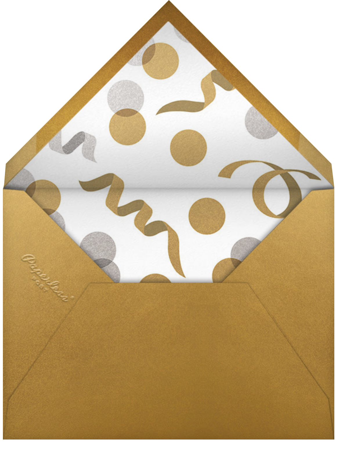 Instant Nostalgia - Paperless Post - Graduation party - envelope back
