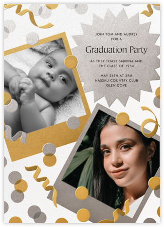 Instant Nostalgia - Paperless Post - Online Party Invitations