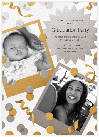 Instant Nostalgia - Paperless Post - Celebration invitations
