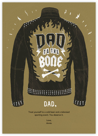 Dad Behavior - Paperless Post - Father's Day Cards