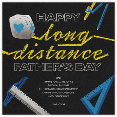 Immeasurable Love - Paperless Post - Father's Day Cards