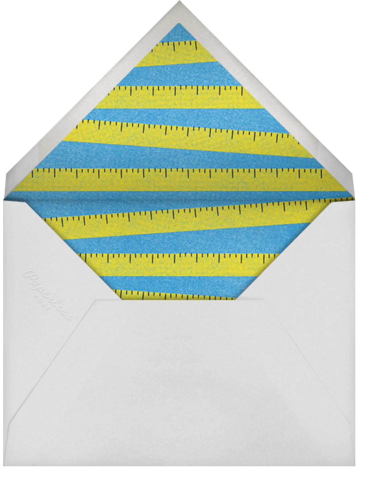 Immeasurable Love - Paperless Post - Father's Day - envelope back
