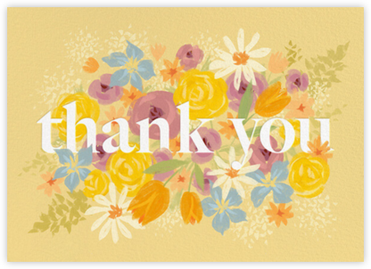 Bunch of Thanks - Paperless Post - Online Thank You Cards