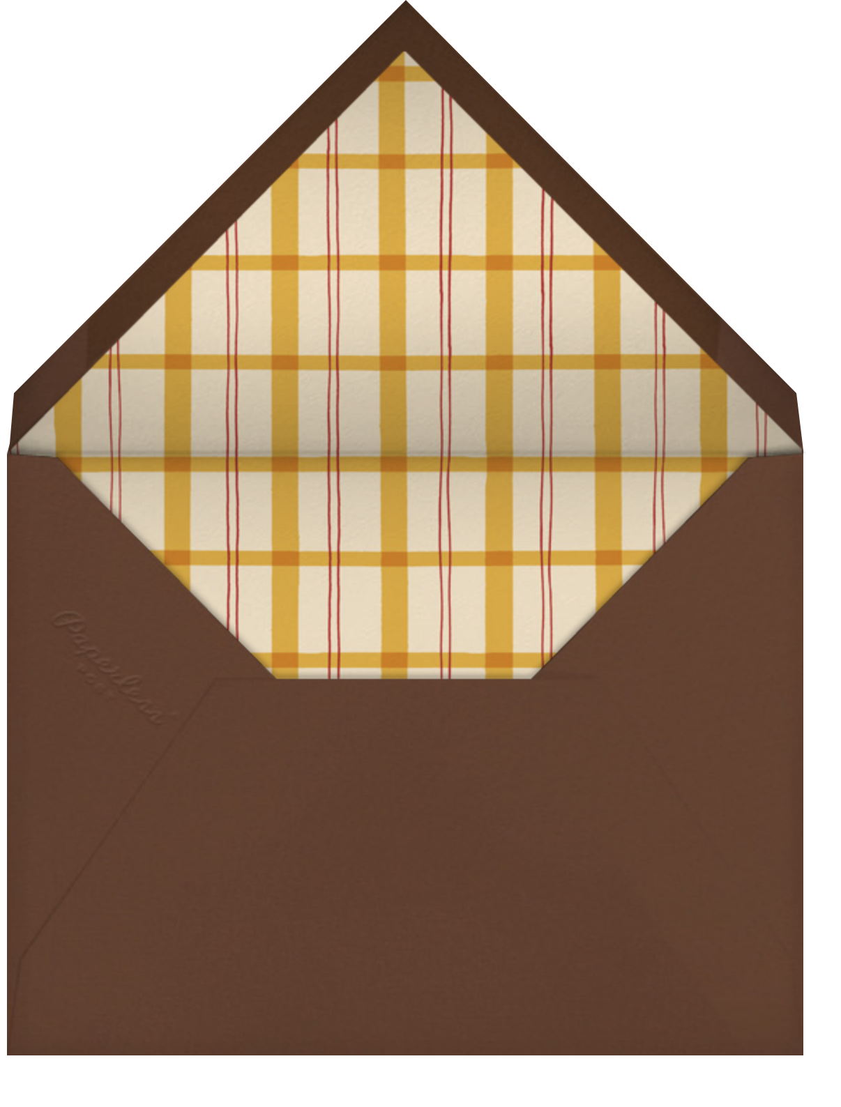 By Par - Paperless Post - Father's Day - envelope back