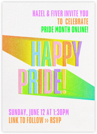 Bright Side - Paperless Post - Pride Party Invitations