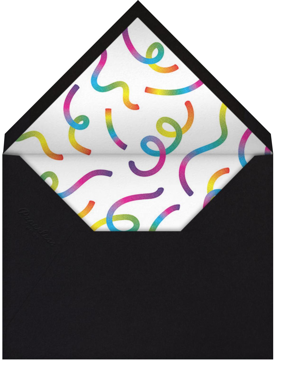 Rainbow Cheers - Paperless Post - Pride - envelope back