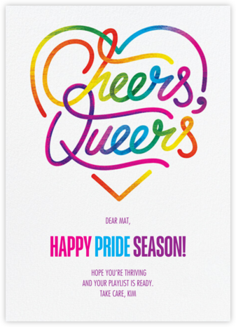 Rainbow Cheers | tall