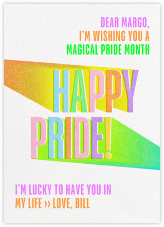 Bright Side - Paperless Post - Pride Greeting Cards