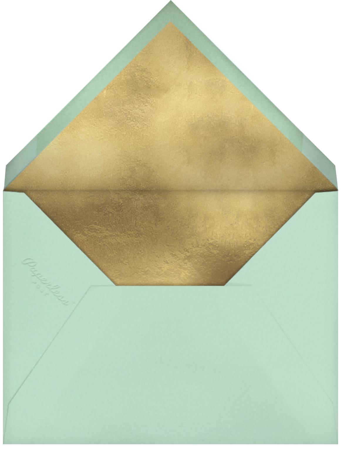 Marbleous - Mint - Ashley G - Kids' birthday - envelope back