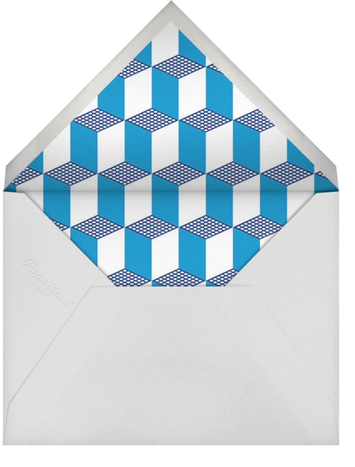 Deco Cubes - Jonathan Adler - Father's Day - envelope back