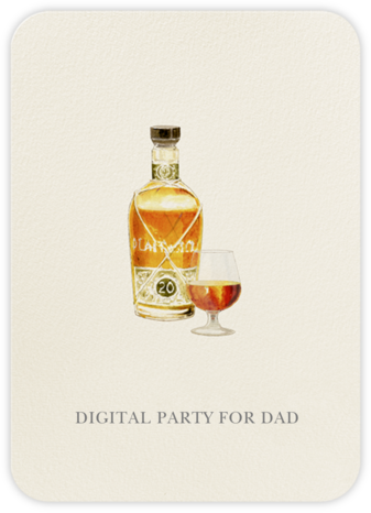 Snifter - Felix Doolittle - Father's Day Invitations