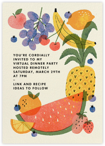 Loose Fruit - Paperless Post - Invitations