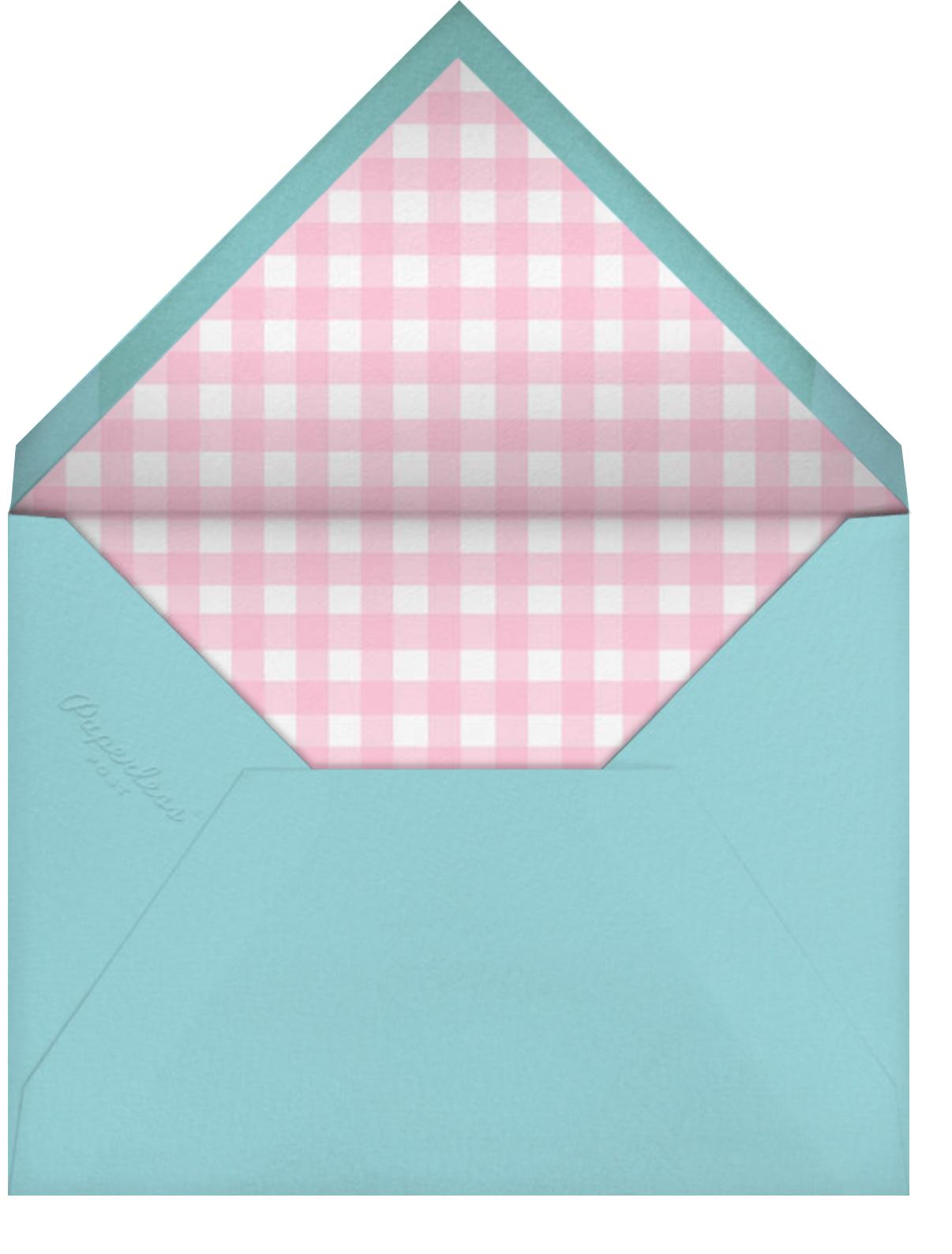 Automotive Animals - Paperless Post - Graduation party - envelope back