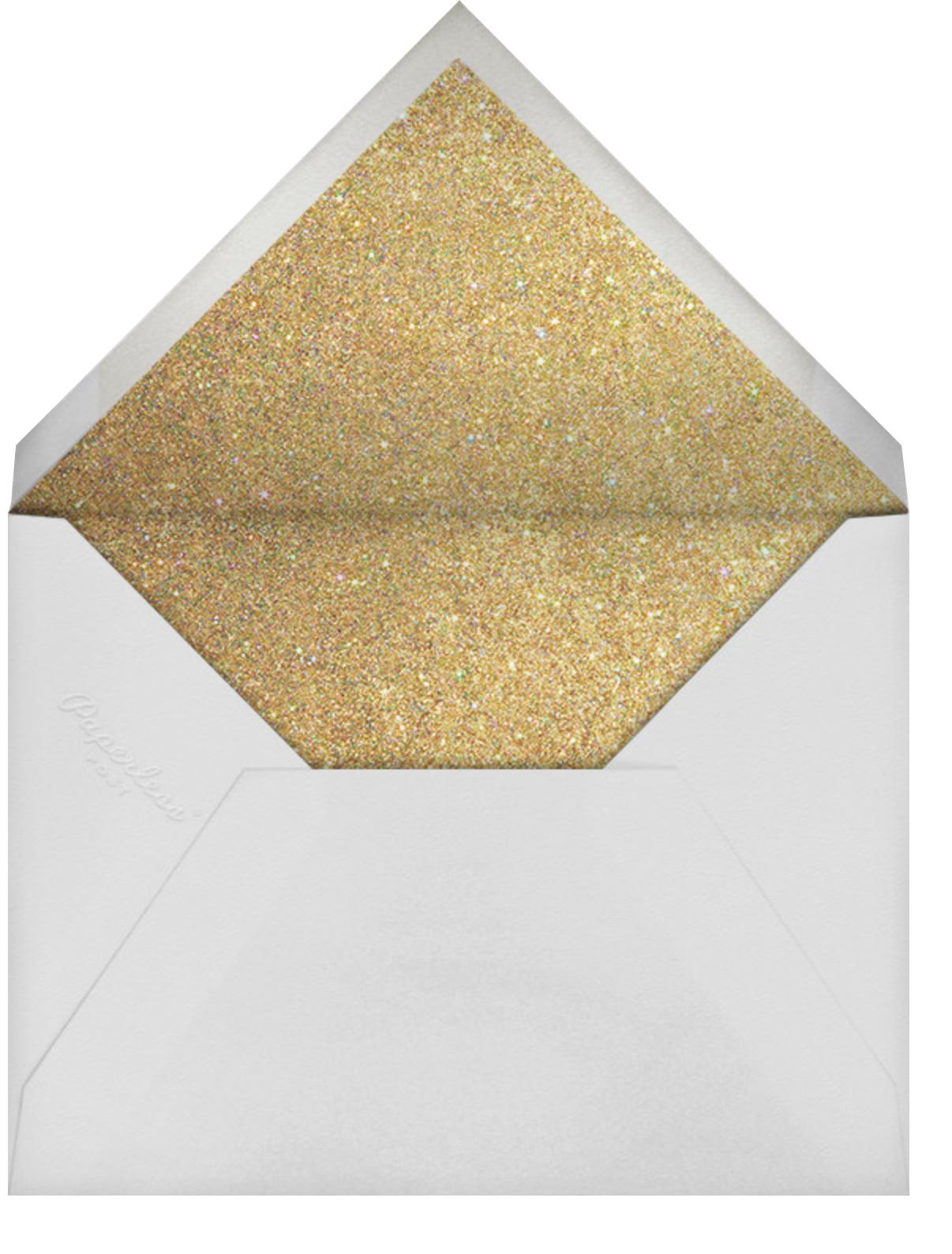 Balloons - Glitter - Paperless Post - Breonna Taylor birthday cards - envelope back
