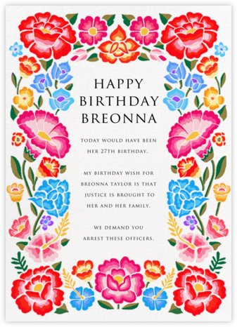 De Colores Fiesta - Paperless Post - Birthday Cards