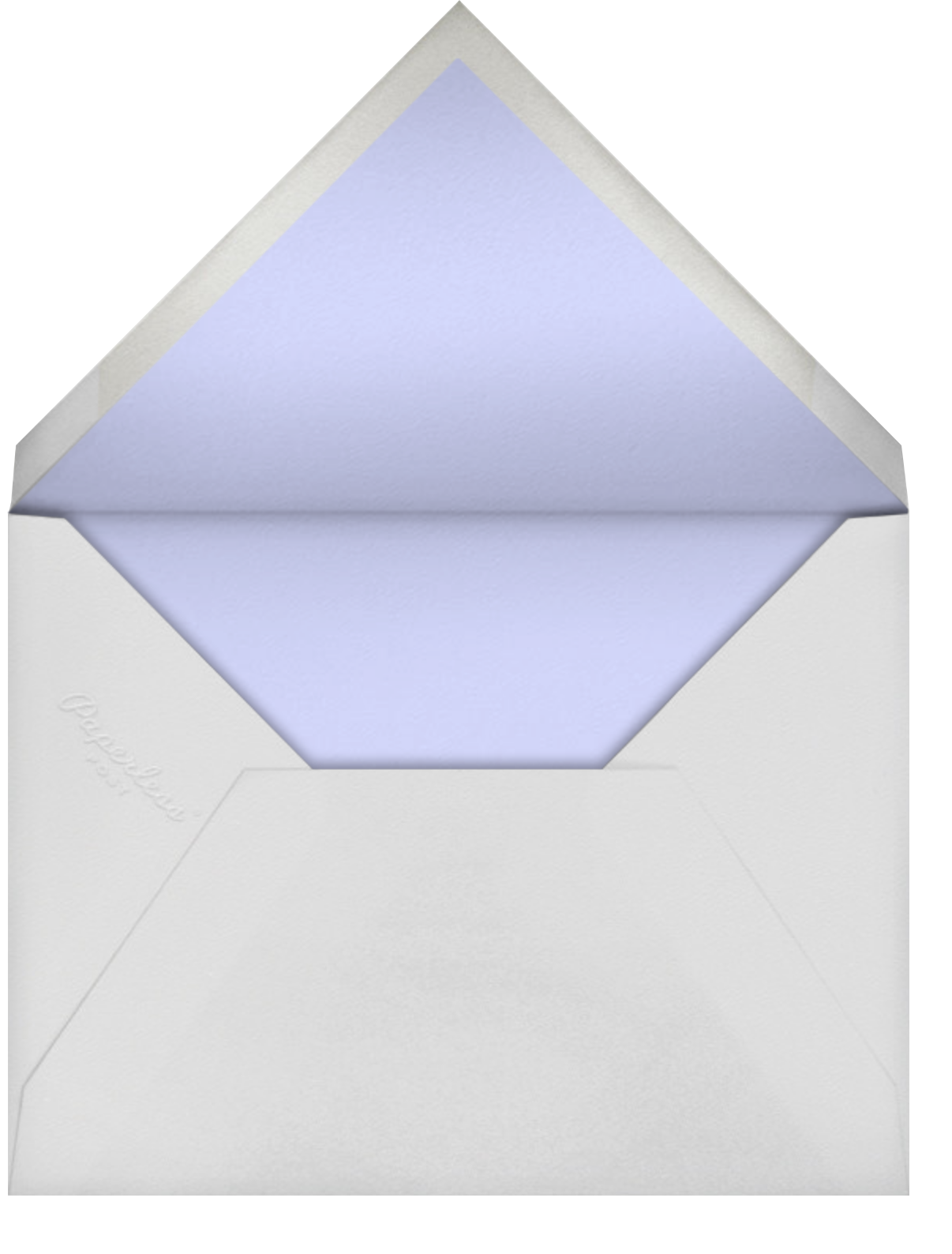 Deco Border - White - Paperless Post - Breonna Taylor birthday cards - envelope back