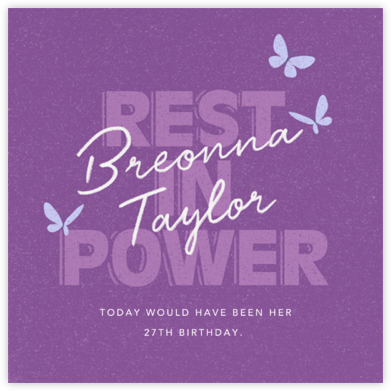 Rest In Power - Paperless Post -