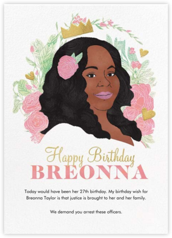 Birthday For Breonna | square