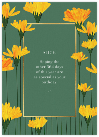 Petals Up - Anthropologie - Birthday