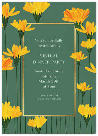 Petals Up - Anthropologie - Invitations