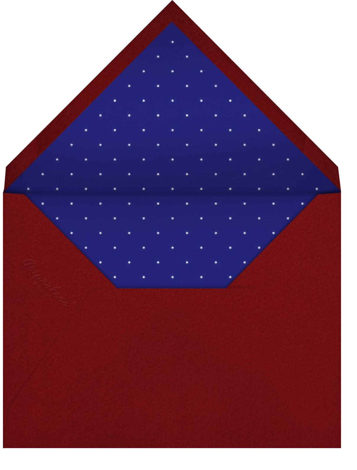 Stars and Stripes - Linda and Harriett - Envelope