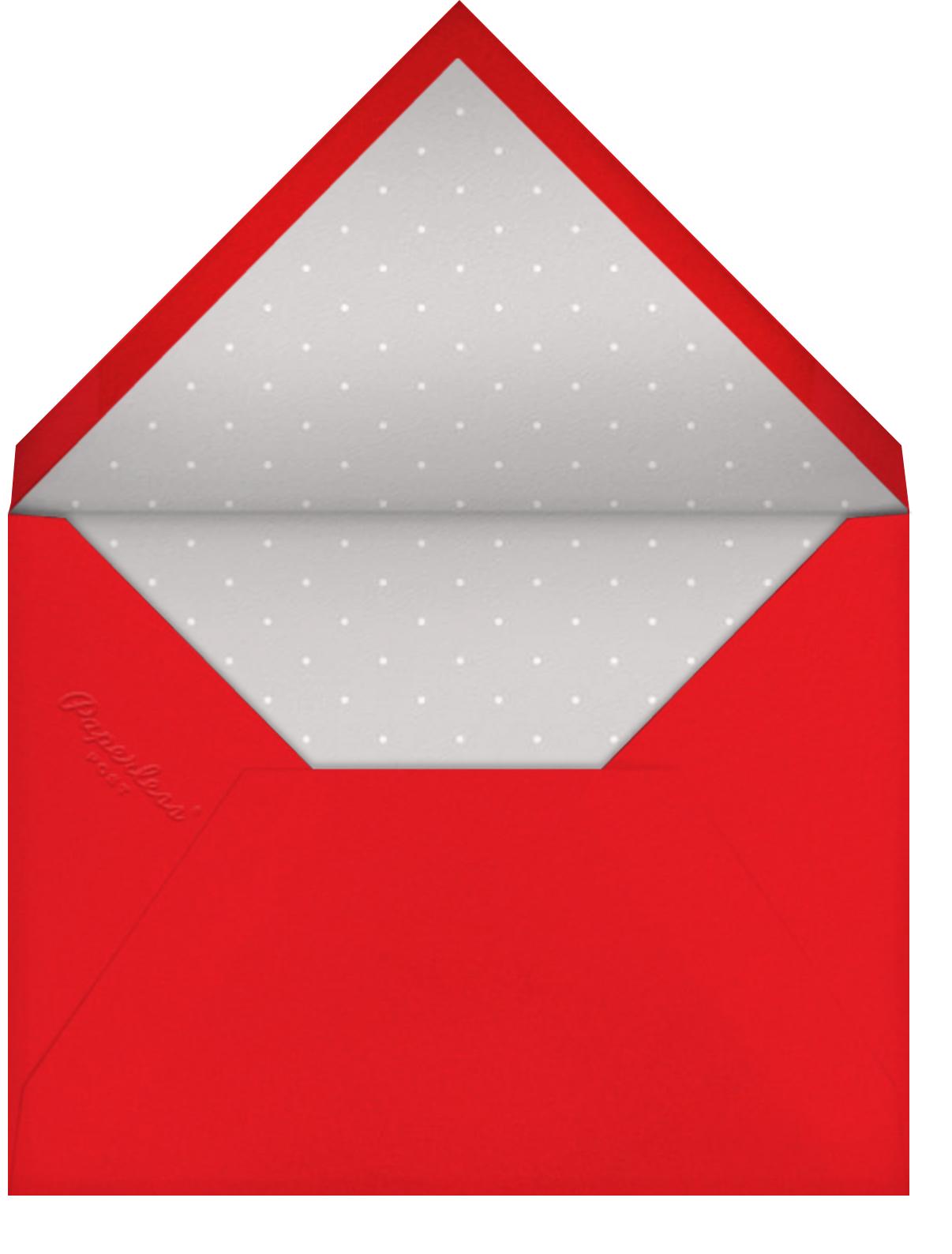 Burst Forth - Blue - Paperless Post - 4th of July - envelope back