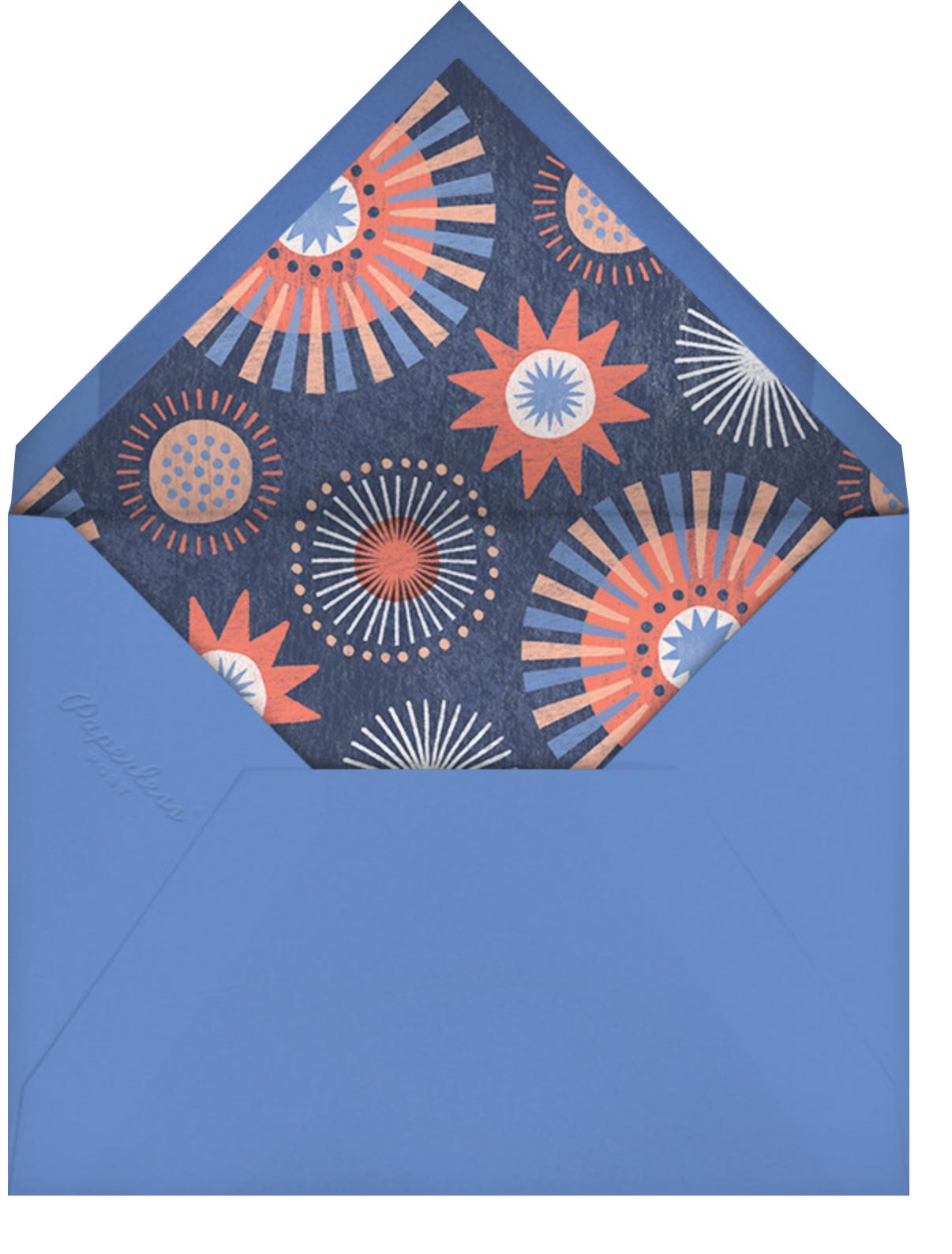 Grand Finale - Paperless Post - Virtual parties - envelope back