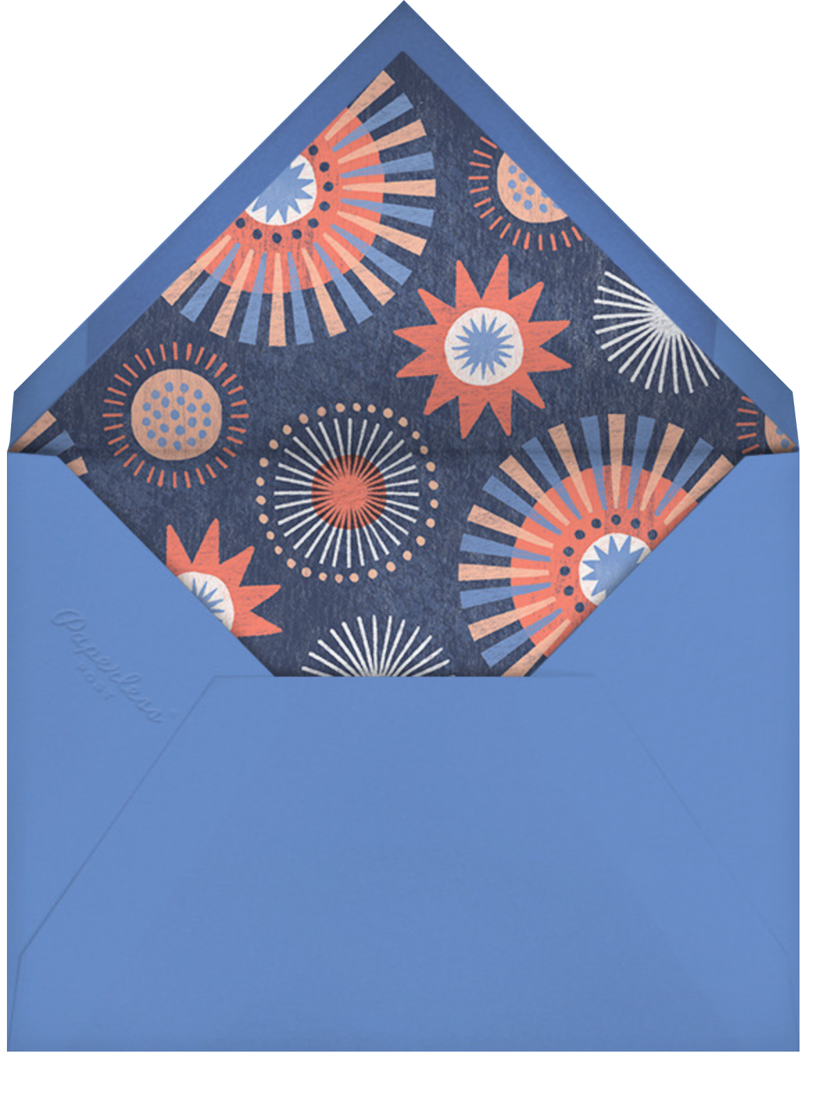 Grand Finale - Paperless Post - 4th of July - envelope back
