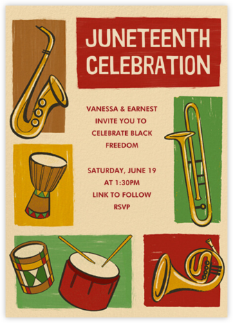 Juneteenth Celebration - Paperless Post -