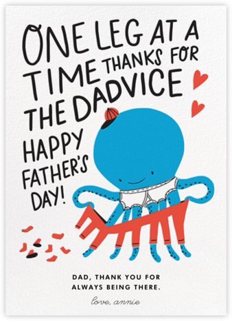 Dad Advice - Hello!Lucky - Father's Day Cards